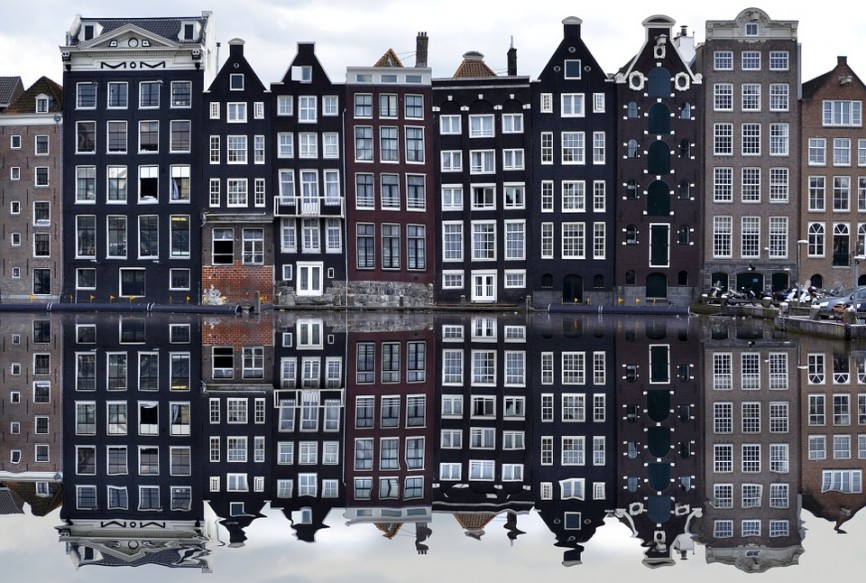 amsterdam, canal, arquitectura