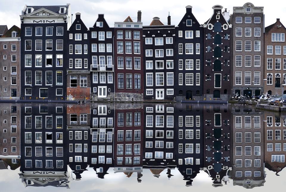 amsterdam, canal, arquitectura