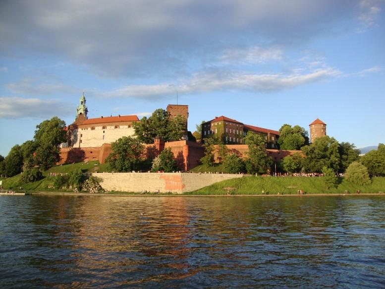 cracovia, rio, castillo